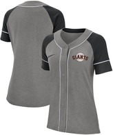 Nike Women's Gray San Francisco Giants Classic Baseball Jersey