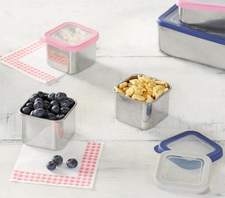 Pottery Barn Kids Spencer Stainless Small Container