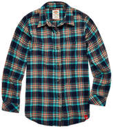 Dickies Girls Long Sleeve Flannel Shirt Girl's 7-16