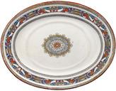 One Kings Lane Vintage Antique Minton Platter - C.1875 - Chez Vous - white/multi