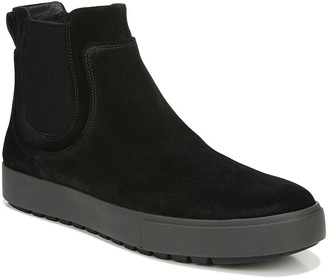 Vince Men's Lowell Water-Repellent Suede Chelsea Boots