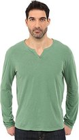 Lucky Brand Men's Long Sleeve Notch Neck Tee