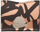 Proenza Schouler Curl graffiti-print leather clutch