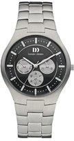 Danish Design Men's 40mm Silver-Tone Titanium Bracelet & Case Quartz Dial Chronograph Watch IQ63Q952