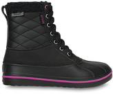 Crocs Black & Viola AllCast Waterproof Duck Boot