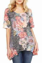 Nally & Millie Floral Print Tunic
