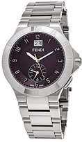Fendi Men's 'High Speed' Swiss Quartz Stainless Steel Dress Watch, Color:Silver-Toned (Model: F478120)
