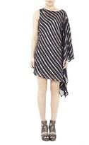 Nicole Miller Sequin Stripes Dress