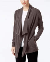 Calvin Klein Brushed Open-Front Cardigan