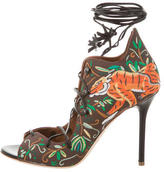 Malone Souliers Savannah Lace-Up Pumps w/ Tags