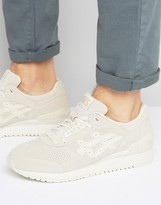 Asics Gel-respector Suede Trainers In Beige H721l 0202