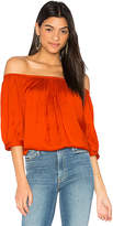 Smythe Gypset Top in Red. - size M (also in S)