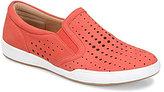 Comfortiva Lyra Perforated Nubuck Slip On Shoes