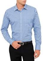 Van Heusen Vh Ls Classic Shirt Small Check Blue