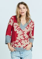 Karen Zambos Coral Hooded Pullover Style 2