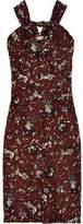 Etoile Isabel Marant Aba Printed Cotton-Voile Mini Dress