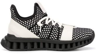 Ermenegildo Zegna Woven Mesh Sneakers
