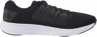Under Armour Women's Surge SE Running Shoes Black (Black/White/White (001) 001) 8 (42.5 EU)