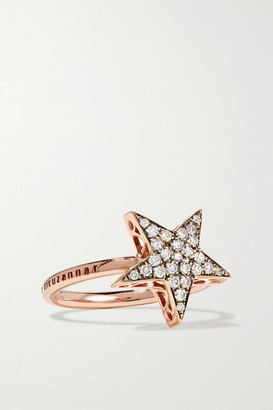 Selim Mouzannar Istanbul 18-karat Rose Gold Diamond Ring