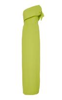 Lela Rose One Shoulder Column Gown