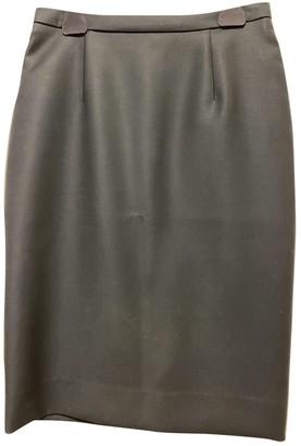 Christian Dior Green Wool Skirts