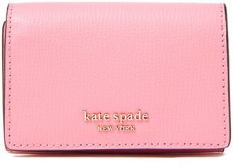 Kate Spade Sylvia Textured-leather Key Wallet