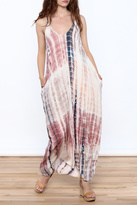 Love Stitch Lovestitch Pink Tie Dye Maxi