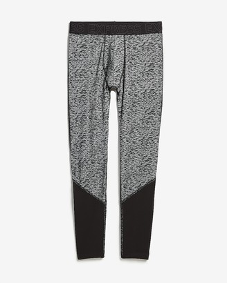 Express Patterned Thermal Wicking Running Tights