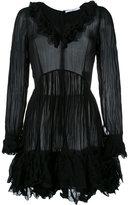 Givenchy creased ruffled dress