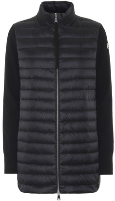Moncler Down wool cardigan