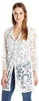 Nic+Zoe Women's Glazed Mesh Jacket