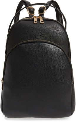 BP Mini Faux Leather Backpack