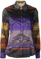 Etro batik print blouse