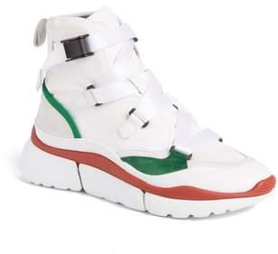 Chloé Sonnie High Top Sneaker