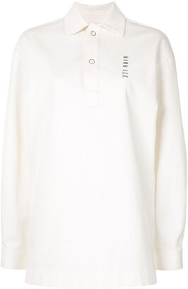 Dion Lee Boxy-Fit Polo Top