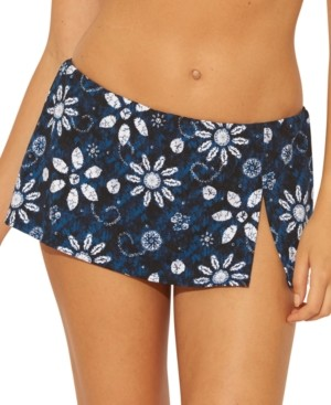 BLEU by Rod Beattie Printed Skirted Bikini Bottoms Women's Swimsuit