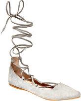 Steve Madden Women's Eleanorr Lace Up Flat