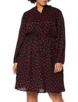Studio Untold Women's Midikleid Mit Herzen Dress