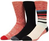 UNIONBAY Men's 3-pack Patterned Fashion Crew Socks