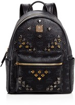 MCM Small M Stud Backpack