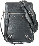 Balenciaga Classic Phone Holder Bag, Gray