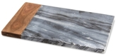 Thirstystone Marble Cheese Board with Wood Accent