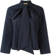 Peter Jensen large bow blouse