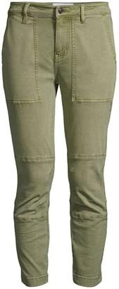 Current/Elliott The Weslan Lace-Up Detail Crop Pants