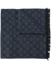 Versace frayed scarf