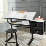 Safavieh Harvard Drafting Table and Chair Set