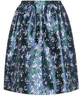 Oscar de la Renta Silk and cotton skirt
