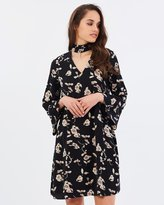 Forcast Rae Choker Dress