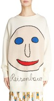 Christopher Kane Women's Reisenbauer Intarsia Face Sweater