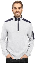 Bugatchi Amato Long Sleeve 1/4 Zip Knit Shirt